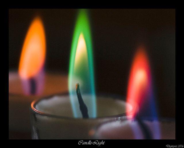 Rainbow Candles Bright Colors Photo 21802669 Fanpop