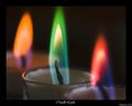 Rainbow Candles - candles photo