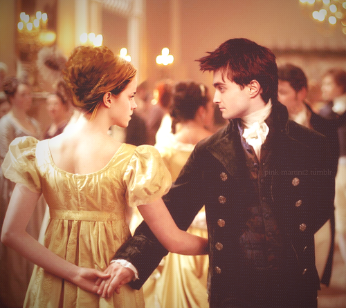 Harry and Hermione wallpaper containing a bridesmaid called Regency Harmony