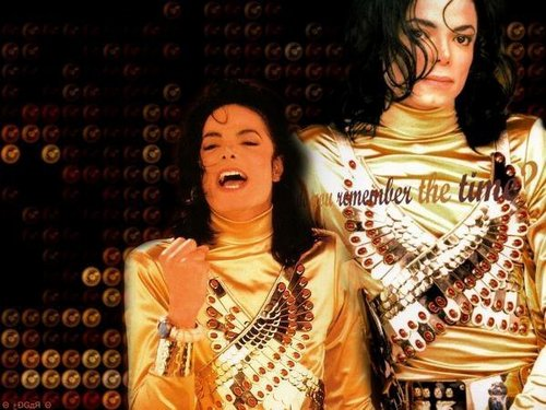 Remember the Time wallpaper with a portrait entitled Remeber the time// MJ- niks95