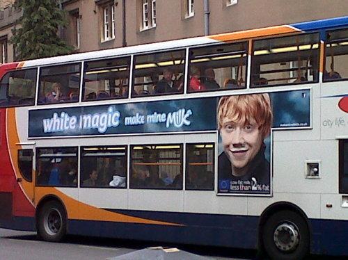 Rupert 'Drink leche Campaign'