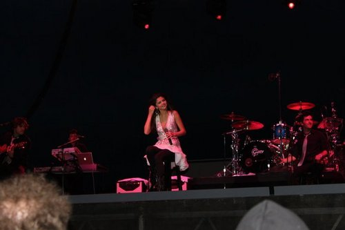 Selena Gomez concert at Dixon, California 01