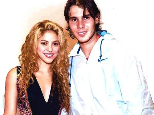 Rafael Nadal wallpaper possibly containing a portrait called Shakira and Nadal were dating in 2009 and their relationship ended with Gypsy video