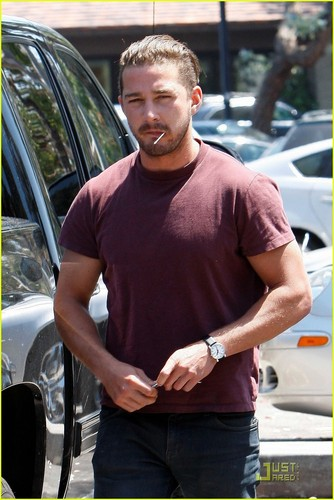 Shia out in Beverly Hills