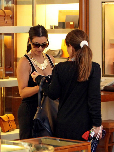 Shopping in Beverly Hills May 5, 2011.