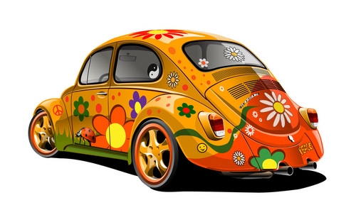 The 60's wallpaper entitled Slug Bug