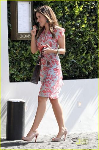 Sophia Bush Checks Out Cecconi's