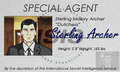 Sterling Archer Name Tag