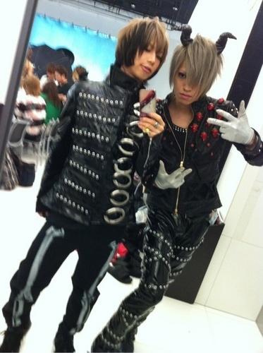 Takeru and Ryouga