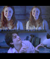 Teenage Lily and Severus