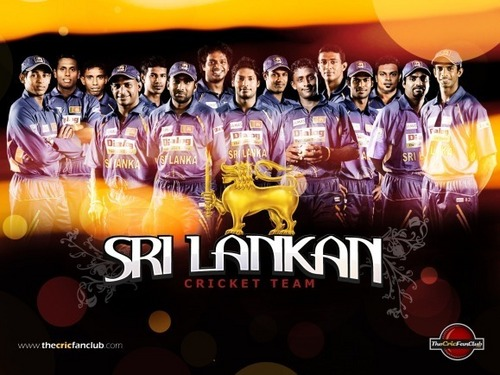 The Sri Lankan Cricket team