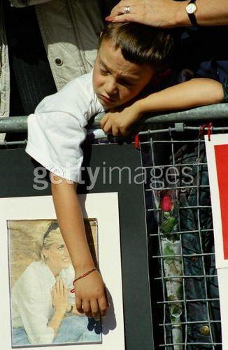 The funeral of Princess Diana