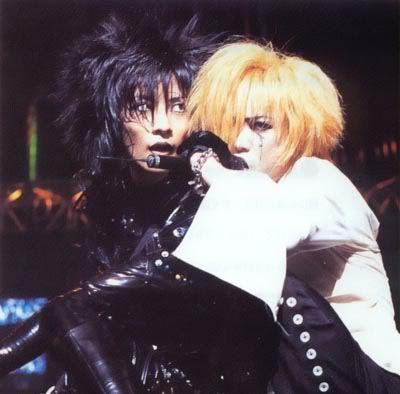 Toshiya and Kyo