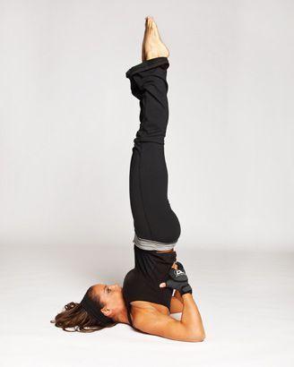 Trish's Yoga Shoot