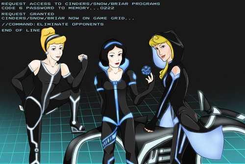 Tron Program 2 - disney-princess Fan Art