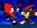 Tronic & Shadow Fighting. - tronic-the-hedgehog photo