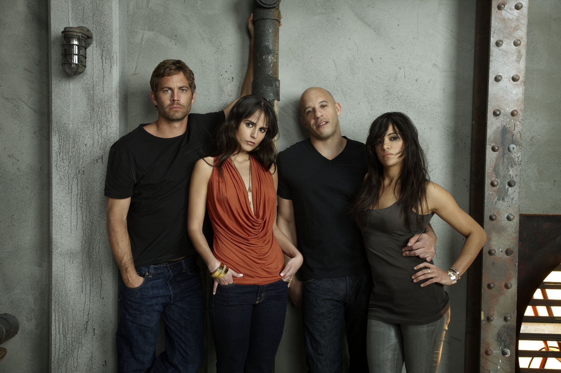 Dom  amp  Letty Vin  amp  MichelleVin Diesel And Michelle Rodriguez Photoshoot