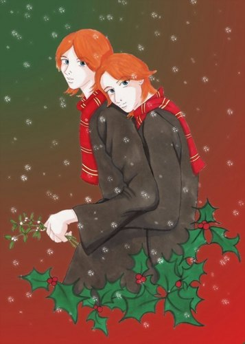Xmas fred figglehorn & George