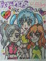 alice,runo and julie