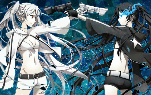 Black★Rock Shooter 壁纸 called black rock shooter