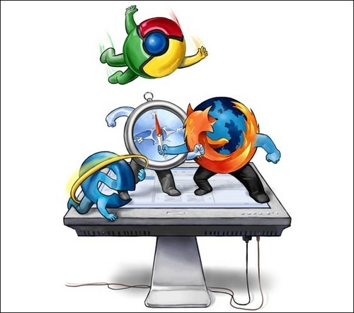 browser fight!
