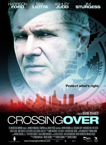Harrison Ford achtergrond with a portrait entitled crossing over