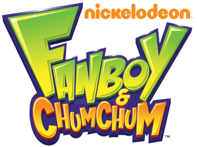 Fanboy ''N'' Chum Chum वॉलपेपर containing ऐनीमे entitled fanboy and chum chum logo