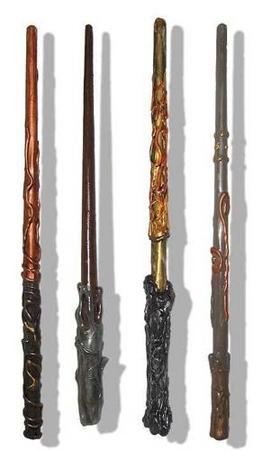 four wands