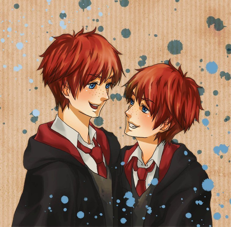 Fred and George Weasley fred and georgeFred And George Weasley Anime