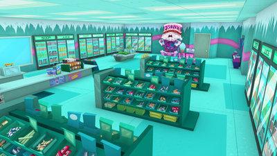 Fanboy ''N'' Chum Chum wallpaper possibly with a Leggere room, a multiplex, and a tobacco negozio titled frosty mart