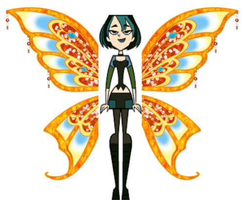 gwen as a fairy