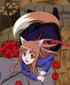 holo and her apples - spice-and-wolf photo