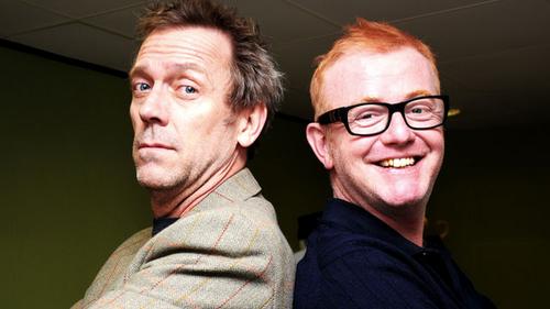 hugh laurie+The Chris Evans Breakfast Show on BBC RADIO 2