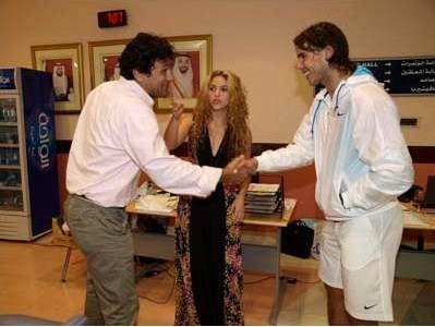 In 2009 Brother Of Shakira Has Approved Her A New Lover Nadal Rafael Nadal Photo 21890840 Fanpop