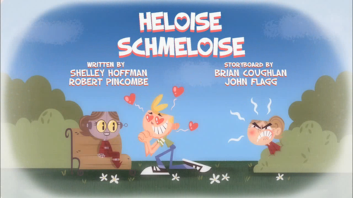 jimmy,schmeloise and heloise