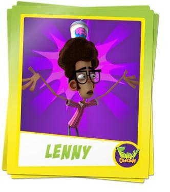 Fanboy ''N'' Chum Chum wallpaper entitled lenny