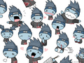 many faces of kisame - kisame-hoshigaki fan art