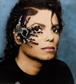 michael jackson with spider - michael-jackson photo