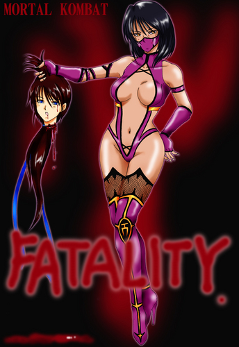 Mortal Kombat wallpaper entitled mileena MK9