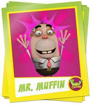 Fanboy ''N'' Chum Chum پیپر وال titled mr. mufflin