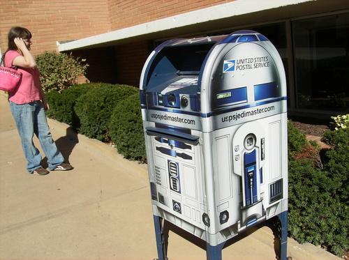 r2d2 mail box