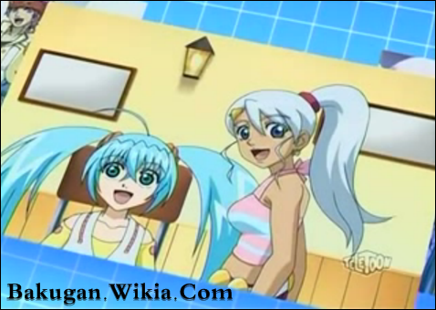 Bakugan Runo and Julie http://www.fanpop.com/clubs/bakugan-girls/images/21892474/title/runo-julie-photo