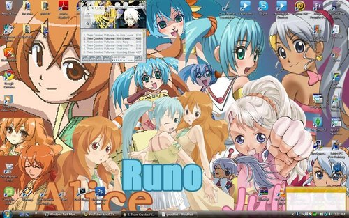 runo,julie and alice
