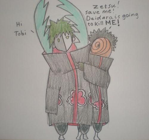 save ME !! Zetsu!!!!