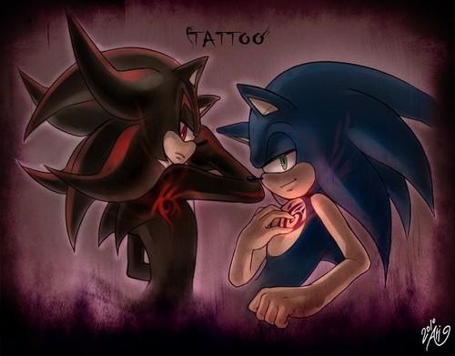 shadow sonic tatoo
