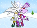 silver and blaze - sonic-couples icon