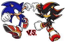 Shadow The Hedgehog kertas dinding possibly with Anime titled sonic vs shadow