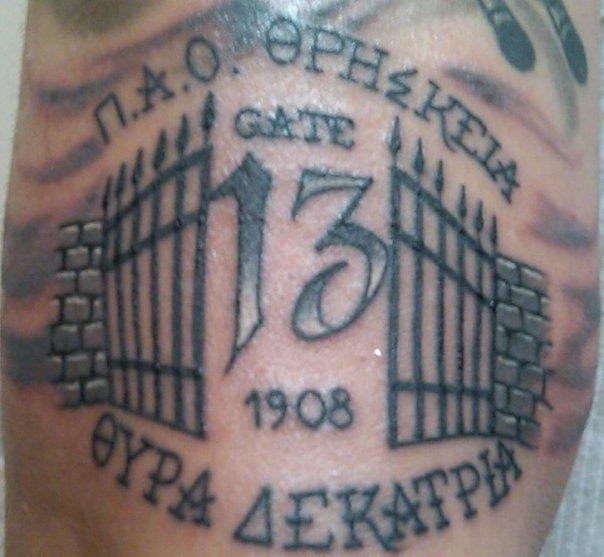 13 tattoos