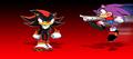 vincent vs shadow - shadow-the-hedgehog photo