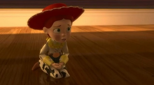 Jessie (Toy Story) wallpaper entitled when she loved me